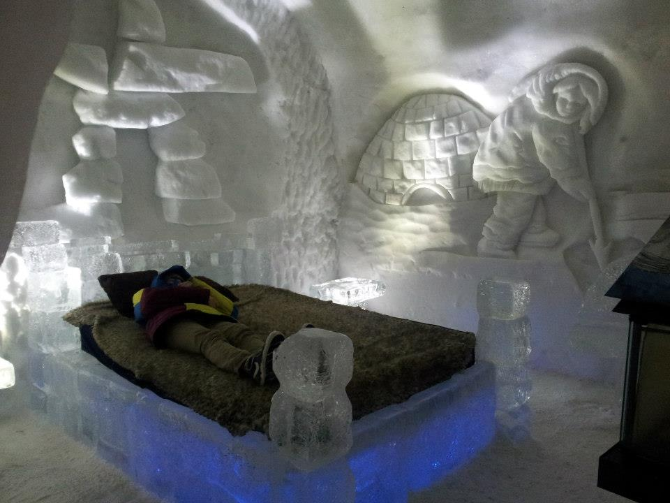 My favorite room in the Hotel de Glace